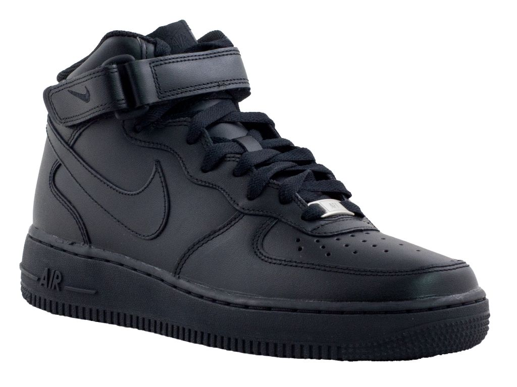 scarpe nike air force nere alte