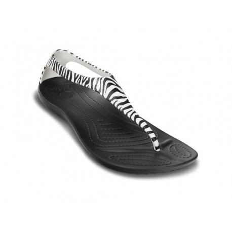 Crocs Sexy wild flip woman infradito zebrato mare donna estate