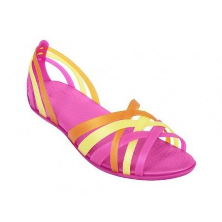 Sandali Crocs Women s huarache flat donna fucsia