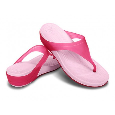 Crocs Womens crocs carlie ii platform flip infradito con zeppa mare donna estate