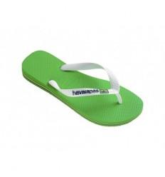 Infradito Havaianas Brasil logo verde uomo verde