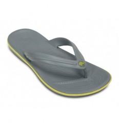 Infradito Crocs crocband flip uomo grigio