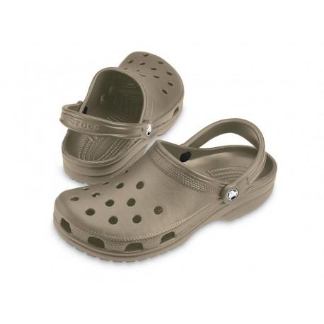 Sandali Crocs classic khaki zoccoli mare uomo beige