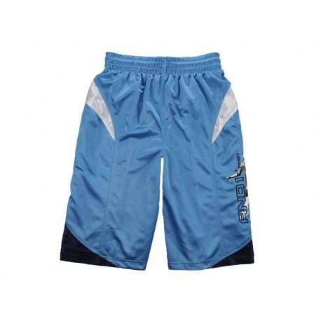 And 1 Shorts da basket azzurro uomo in tessuto dri-fit poliestere