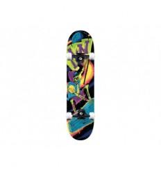 Action now skateboard completi sport con grafiche nero