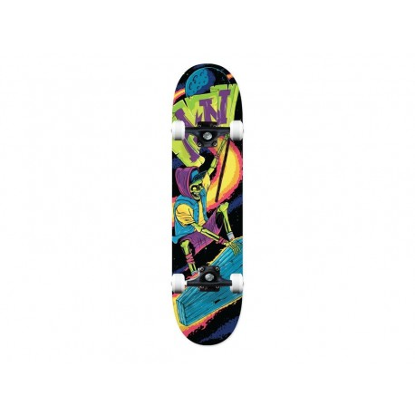 Action now skateboard completi sport con grafiche nero