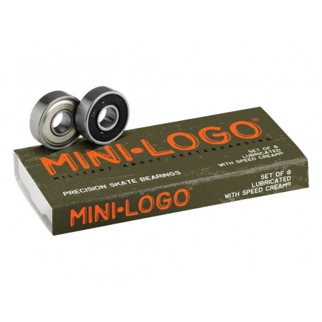 Mini-logo Cuscinetti skateboard precision skate bearings
