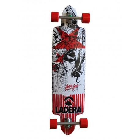 Ladera Katie bones downhill longboard skateboard