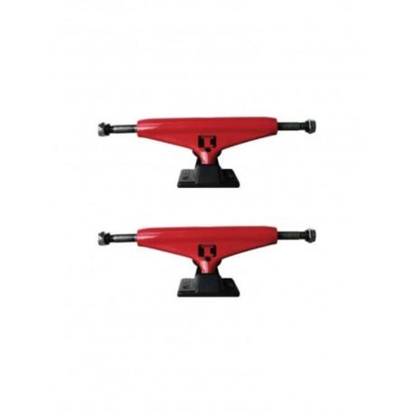 Truck per skate industrial rosso coppia 125mm