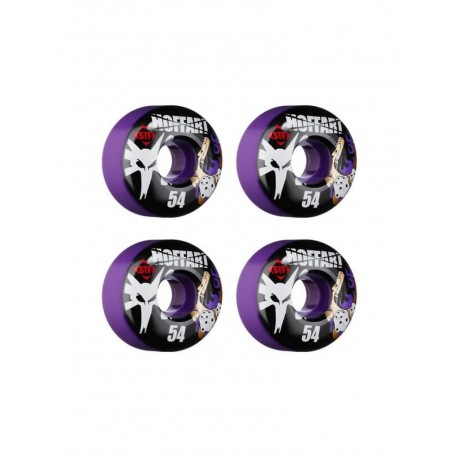 Bones wheels ruote skate viola 54mm