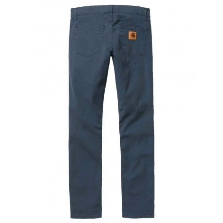 Carhartt Jeans carhartt rebel pant uomo cotone vita bassa slim blu
