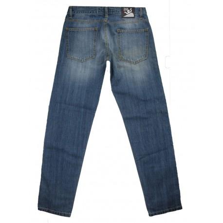 Jeans uomo cotone color jeans Ies