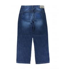 Jeans teschio uomo vita alta IES