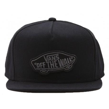 Cappello uomo Vans Classic patch con visiera nero