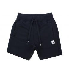 Shorts bermuda Converse flece slim in blu