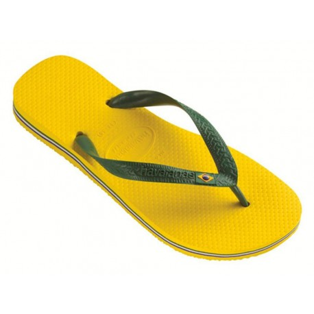 Havaianas Brasil giallo infradito mare uomo donna