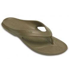 Infradito Crocs classic flip uomo donna verde