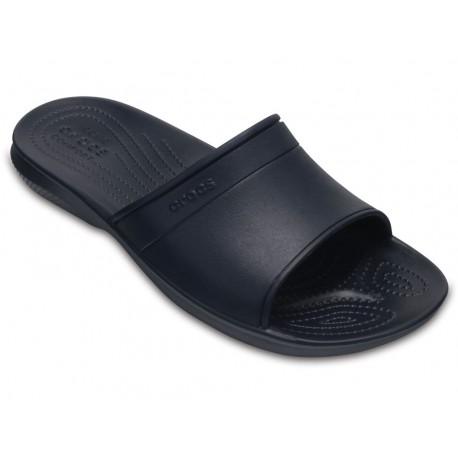 Crocs sandalo classic slide uomo ciabatta blu