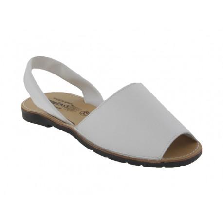 Sandali donna Angelitos 201 pelle bianco