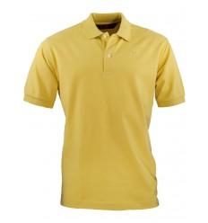 Robe di Kappa polo uomo cotone giallo maniche corte