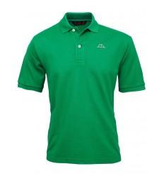 Robe di Kappa polo uomo cotone verde maniche corte