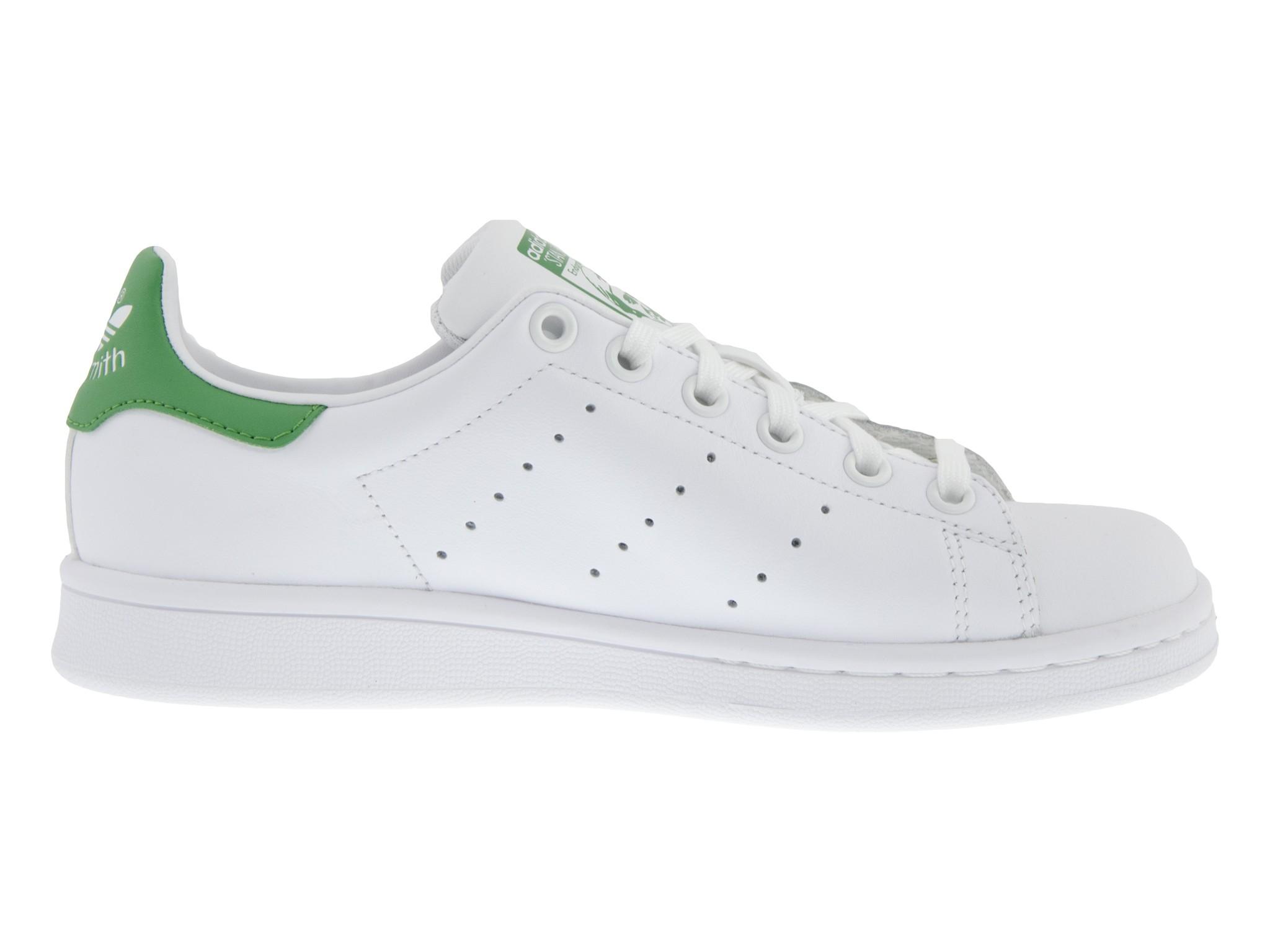 adidas basse bianche e verdi