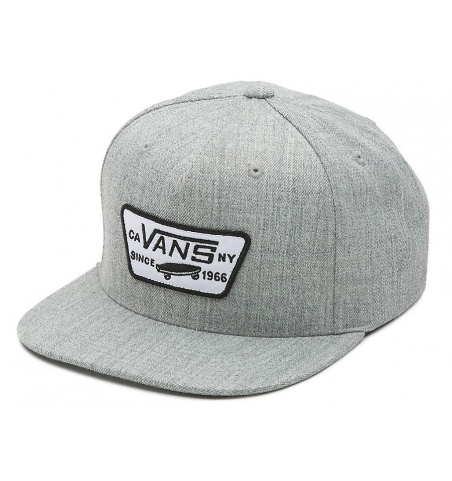 Cappello Vans Full Patch Snapback grigio chiaro 3dc59a15c3d9