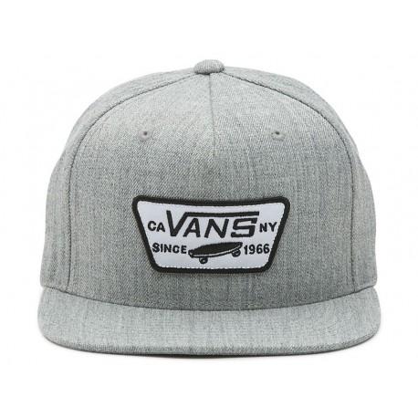 Cappello Vans Full Patch Snapback grigio chiaro