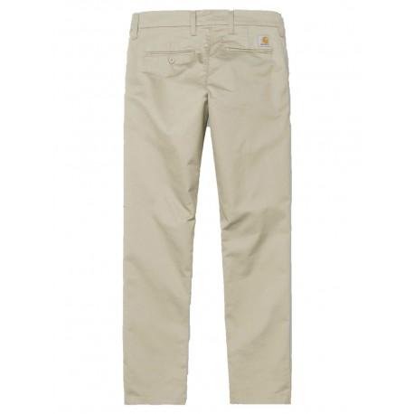 Pantaloni Carhartt Sid pant uomo beige