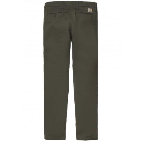 Pantaloni Carhartt Sid pant uomo verde scuro
