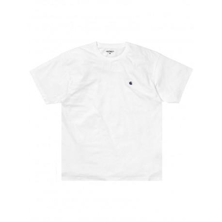 T shirt Carhartt uomo S/s Madison bianco