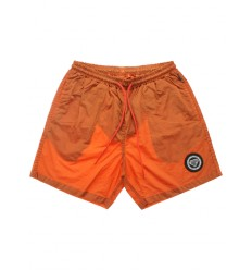 Costume Iuter Logo Swim Trunks da uomo arancione