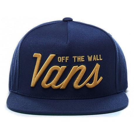 Cappello uomo Vans Hayden Snapback con visiera blu