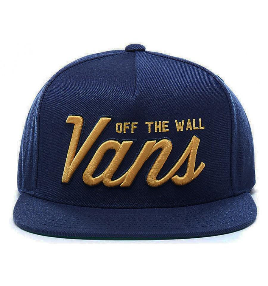 c7aa2c3125b851 Cappello uomo Vans Hayden Snapback con visiera blu
