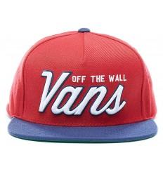 Cappello uomo Vans Hayden Snapback con visiera rosso ac65a02da260