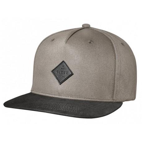 Cappelli Globe con visiera Gladstone Snapback beige