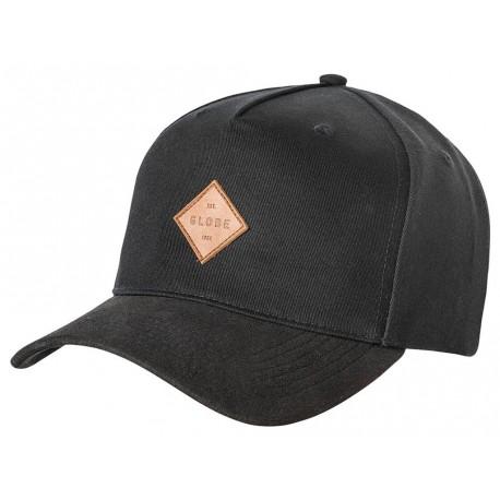 Cappelli Globe con visiera Gladstone II Snapback nero