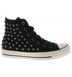 Scarpe Converse Ct as hi distressed donna nero