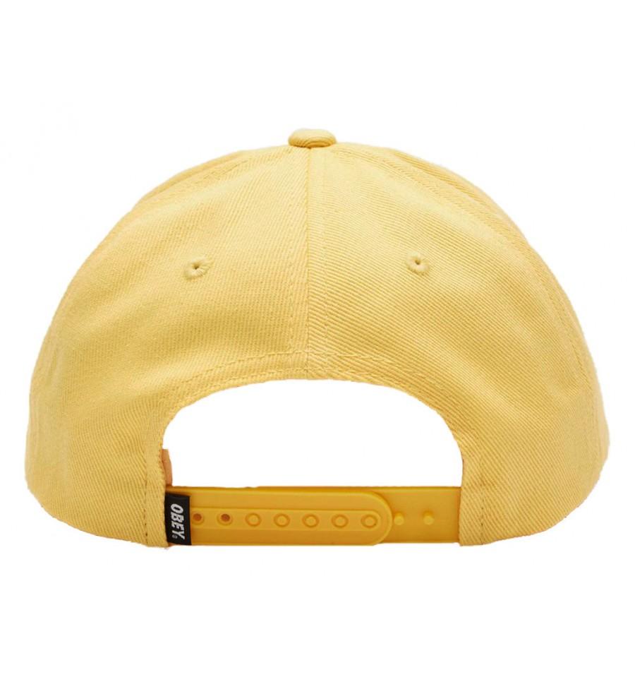Cappelli Obey con visiera Outline da uomo giallo b10baef64b02