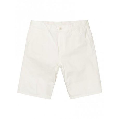 Bermuda Carhartt uomo Chalk Short bianco