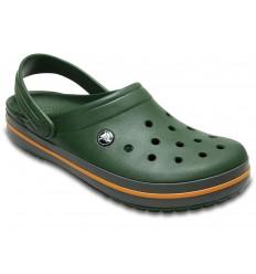 Sandalo Crocs Crocband uomo donna verde