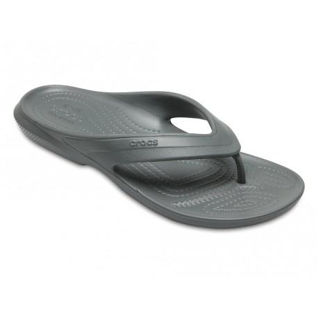 Infradito Crocs classic flip uomo donna grigio scuro
