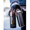 Bombolette Montana spray graffiti tonalità rossi