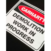 T shirt Carhartt uomo Demolition nero