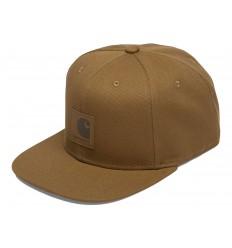 Carhartt Cappello con visiera Logo cap uomo marrone chiaro