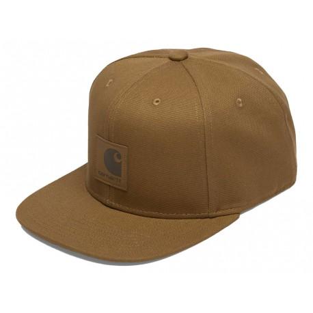 Cappello con visiera Carhartt Logo cap uomo marrone chiaro