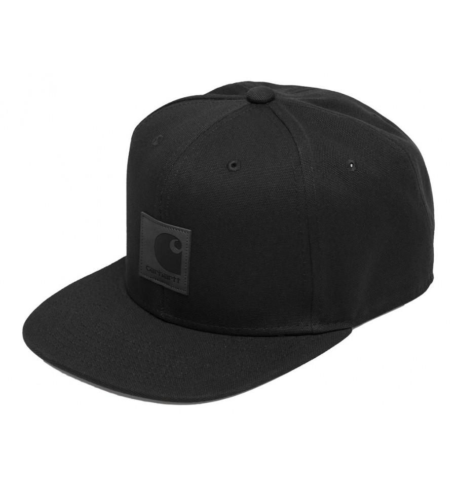 prezzo minimo volume grande retrò Cappello con visiera Carhartt Logo cap uomo nero