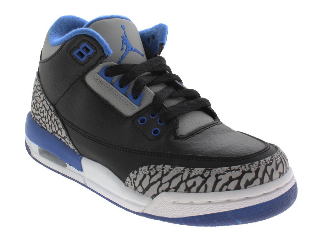 stile romanzo autentico disponibilità nel Regno Unito Nike Air Jordan Retro 3 scarpe ginnastica donna nero 398614007