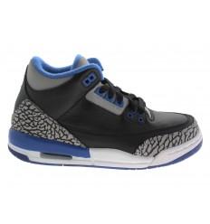 Nike Air Jordan Retro 3 scarpe ginnastica donna nero