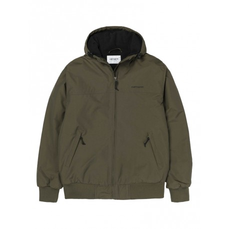 competitive price 79028 ae368 Giubbino Carhartt Hooded Sail da uomo verde
